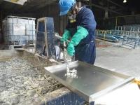 Toma de muestras residuos peligrosos
