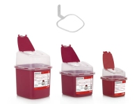 Recipientes cortopunzantes/ 2.8L, 1.3L y 0,5L