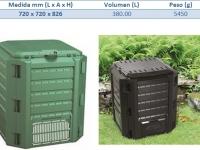 Compostera modular de 380 a 4800 Litros