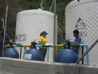 Sistema de tratamiento de agua potable